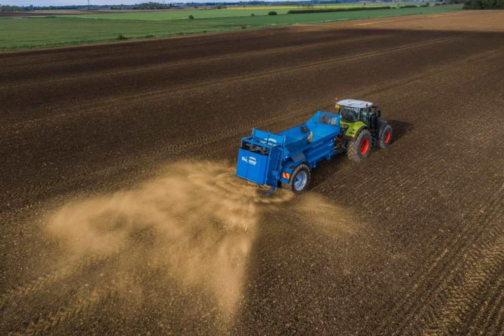 120 Hy Lime Spreading 1